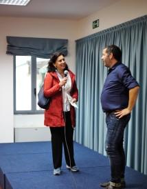 Il sindaco di Cogorno Enrica Sommariva